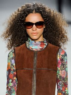 Curly Do's - Nicole Miller  New York Fashion Week Fall/Winter 2012 Runway Show