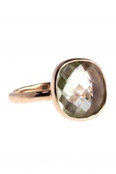 Ring Sterling Silber rosé vergoldet Amethyst #newone #ring #jewellery LOVE <3