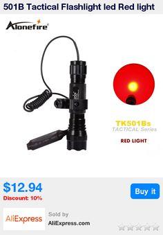 501B Tactical Flashlight led Red light Hunting Torch Spotlight Shotgun lighting +Tactical mount+Remote switch * Pub Date: 16:36 Jul 13 2017