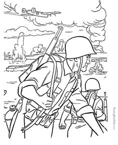 free printable soldier coloring pages veterans day coloring page memorial day coloring pages army
