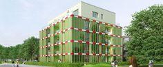 BIQ House, le facciate di alghe che producono energia pulita.