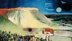 Kent Landscape (1968-69) by Edward Burra