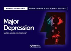 Major Depression Nursing Care Management
