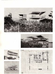 Τάκης Χ. Ζενέτος, 1926-1977 - Takis Ch. Zenetos, 1926-1977 Arch House, Modern Buildings, Modernism, Athens, Villas, Architects, Greece, Most Beautiful, Floor Plans
