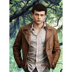 Beautiful Creatures Alden Ehrenreich Ethan Wate Leather Jacket