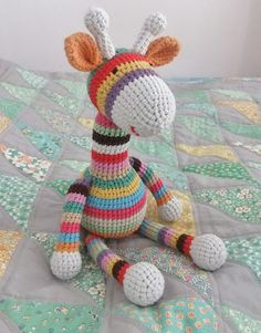 I Love Buttons By Emma:  #Crochet Giraffe