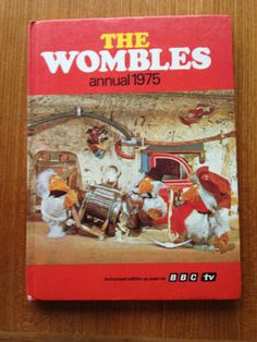 Vintage 1975 The Wombles Annual by PickleKids on Etsy, Vintage Books, Vintage Items, Wimbledon Common, Durham Museum, Inner Child, Stop Motion, Vintage Children, Kids Playing, Childhood Memories