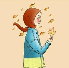 Girly Drawings, Art Drawings, Hijab Drawing, Anime Muslim, Hijab Cartoon, Beauty Background, Sketch Painting, Disney Wallpaper, Islamic Art