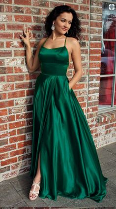 Dark Green Bridesmaid Dresses,Long Prom Dresses,Emerald Green Prom #prom #promdress #dress #eveningdress #evening #fashion #love #shopping #art #dress #women #mermaid #SEXY #SexyGirl #PromDresses