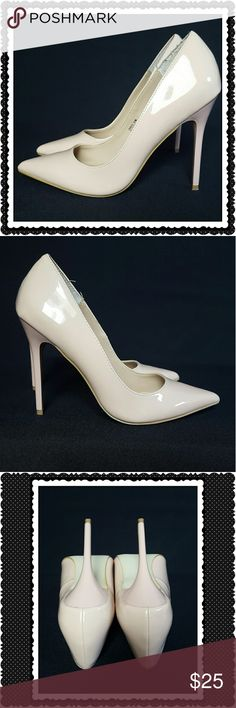 Madden Girl Pale Pink Heels Madden Girl baby pink pointed heels. Stiletto heel. Worn once. No flaws. Madden Girl Shoes Heels