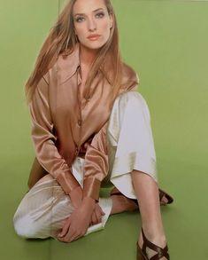 Tatjana Patitz- Episode 1996 Fashion Models, Female Fashion, Womens Fashion, Tatjana Patitz, Women's Work Fashion, Moda Femenina, Fashion Women, Women's Fashion