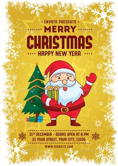 Christmas Flyer  Christmas Flyer Flyer Template And Event Flyers