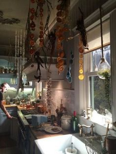 20+ Amazing Witch Decor For Inspired Many Magicians To Decorate His Personal Space Apartment bedroom design Eclectic kitchen Witch decor