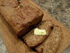HappyWithout: Flax Meal Banana Bread - Grain Free, Nut Free, Paleo, Sugar Free