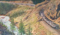 Amtrak wall calendar, 1985.