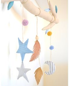 Yume - Branch Wall Hanger- Blue - So Fofo
