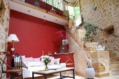 Jardin des Chambres d'hôtes à vendre en Beaujolais des Pierres Dorées à 25 mn de Lyon