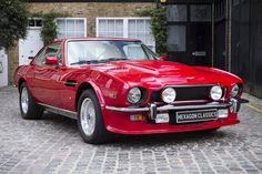 1988 Aston Martin V8 Vantage one of the absolute best Astons ever made. Prefer these to the V12 Vanquish