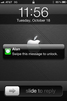 iPhone Tip: Slide a Notification to Unlock the iPhone and Launch the Corresponding App