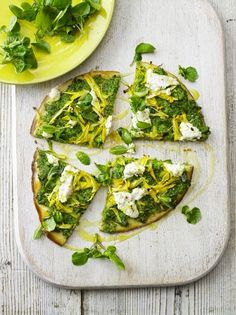 Gluten-free Spring flatbread pizzas | Jamie Oliver