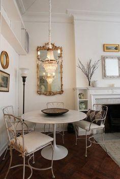 Квартира в стиле Шебби шик площадью 84 кв.м. в Нью-Йорке