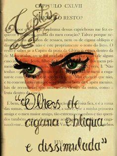 Arte inspirada no livro Dom Casmurro de Machado de Assis  Art inspired by the book Dom Casmurro Machado de Assis #aquarela #Brasil #Capitu