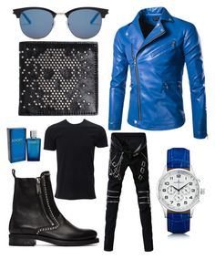 """""""Contest: Menswear"""" by mandy-arsenyk-sharp ❤ liked on Polyvore featuring Dsquared2, Yves Saint Laurent, Kennett, Alexander McQueen, Simplex Apparel, Joop!, men's fashion and menswear"""
