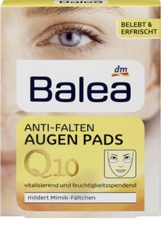 Wertvolle Feuchtigkeit für die zarte Augenpartie: Balea Q10 Anti-Falten Augen Pads vitalisieren und glätten sanft die Haut. Das hauteigene Q10 ist ein...