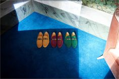 In fall's tones of yellow, red or green, the suede Horsebit loafers from Gucci Cruise 2016 feature the green-red-green Web stripe.