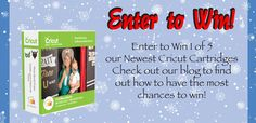 REPIN TO WIN! We are giving away 5 Cricut Photo Booth Props cartridges! Contest ends Monday, check back Tuesday to see if you've won!