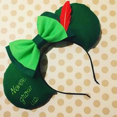 I'll never grow up, never grow up, never grow uuuuuUP! Not me! Looooove how these custom embroidered ears turned out  #peterpan #nevergrowup #faithtrustandpixiedust #thinkofawonderfulthought #peterpanears #disneyears #disneyland #disneybound