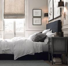 Cortinas de lino y otras alternativas para vestir ventanas: estores plegables de…