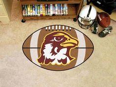 FanMats Quincy University Football Rug 22x35