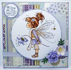 Sylvia Zet: Mountain Lily by Hazel Conboy