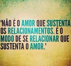 Amor x Relacionamento
