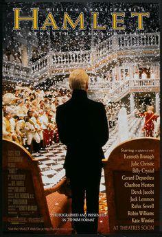 """Hamlet"" (1996), dirigida por Kenneth Branagh."