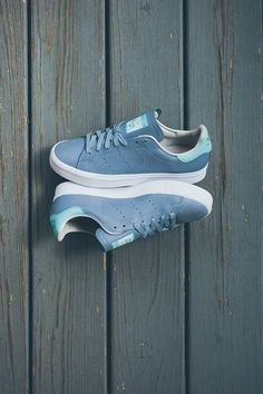 "adidas Stan Smith Vulc ""Dust Blue & Tiffany""BY ROCKY BROWN ON MARCH 20, 2015"
