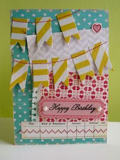 kkm Paper: Crate Stickers: Crate Pearls: Kaisercraft Dies: Spellbinders, PTI Stamp: PTI Other: Sewing machine, chalk ink, distresser