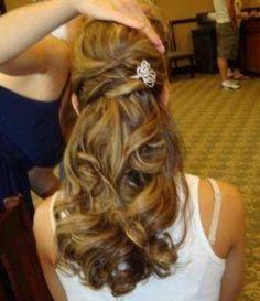 wedding hair halfup #shaadibazaar