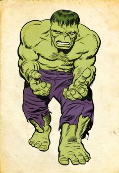 #Hulk #Fan #Art. (Kirby Hulk... Jolly Green Giant version) By:Simon-Williams-Art. ÅWESOMENESS!!!™ ÅÅÅ+              https://s-media-cache-ak0.pinimg.com/474x/1a/90/b4/1a90b470fb716e500bb3b2506cb24091.jpg