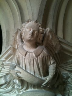 angel from st andrews church fontmell magna dorset