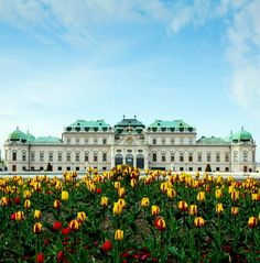 The Famous Belvedere Palace in Vienna Austria | 30 Truly Charming Places To See in Austria