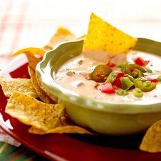 Chili con Queso is great for a Super Bowl party!