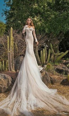 gorgeous dresses with train 25