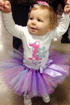 Baby Girl-Winter ONEderland 1st Birthday Tutu by ChristiCreations