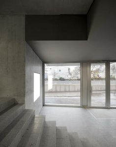 Wohnhaus in Zürich von EM2N Treppenhaus