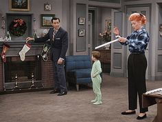 lucy and ethel in color | Colorized I Love Lucy Christmas Special Airing on CBS Dec 20th ...