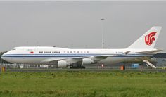 Air China Cargo, China - Boeing 747-400F freighter at Amsterdam Schiphol AP - via PJ de Jong