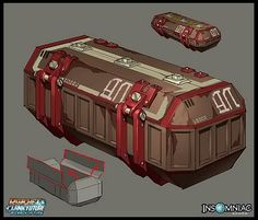 Rachet and Clank Concept Art- Props