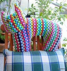 Kissen - Nackenhörnchen für Badewanne und Liegestuhl - ein Designerstück von LilyTiger bei DaWanda